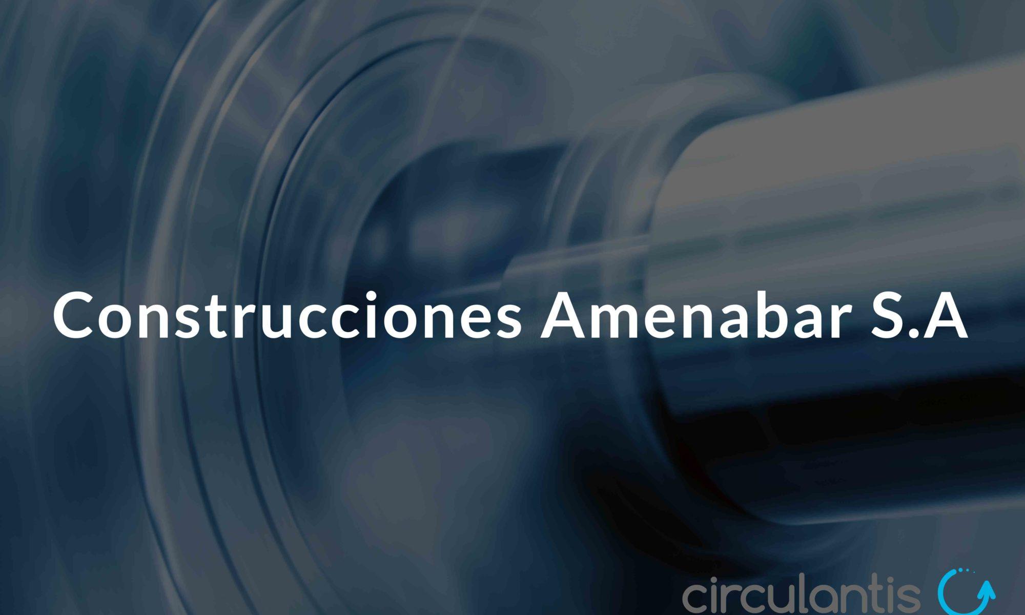 construcciones amenabar - circulantis