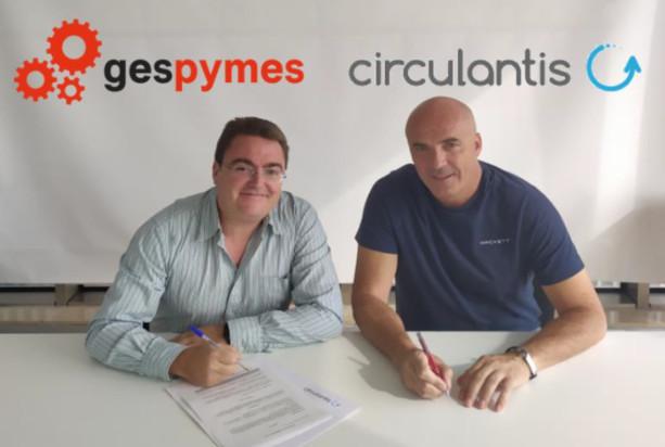acuerdo de colaboracion entre gespymes y circulantis - circulantis
